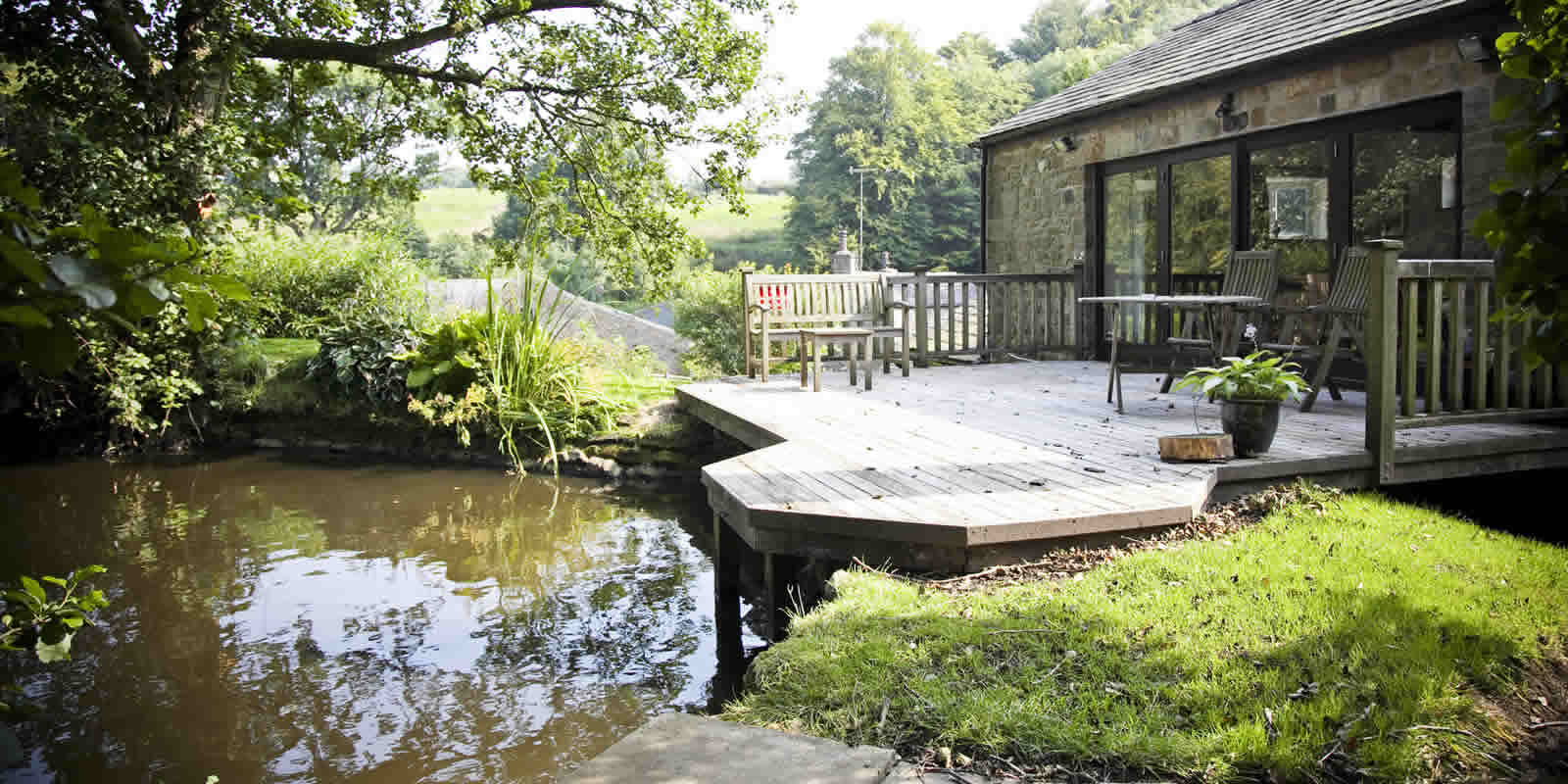 relax in our self catering holiday cottages