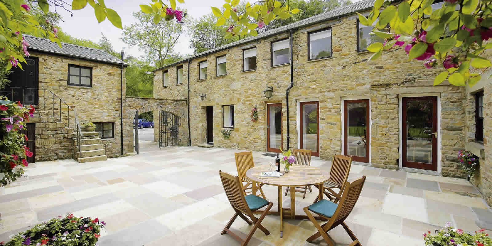 first floor, luxury self catering Lancashire