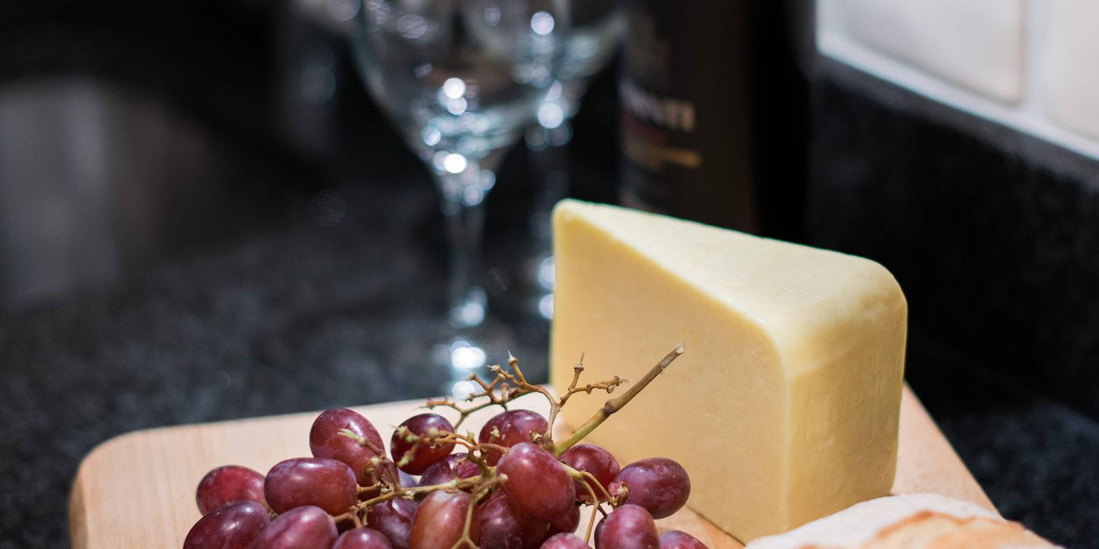Lancashire cheese produced locally