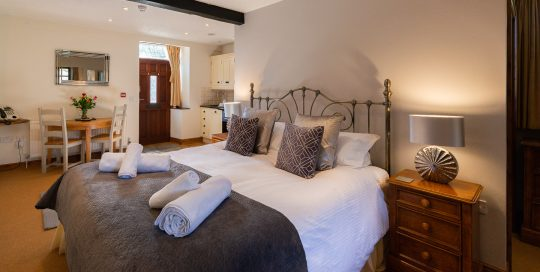 Blue Bell Studio. a luxury boutique Preston holiday cottage.