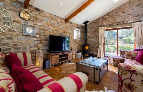 Beech Tree Cottage Lounge. Boutique luxury Luxury Holiday Cottage in Lancashire