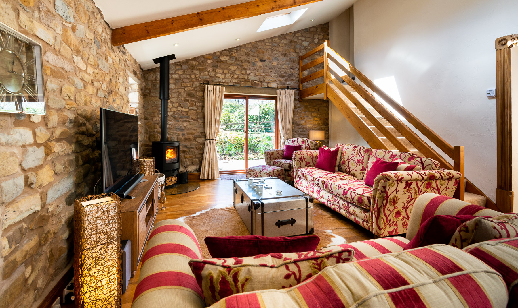 Beech Tree Cottage Lounge. Boutique luxury Lancashire holiday cottage