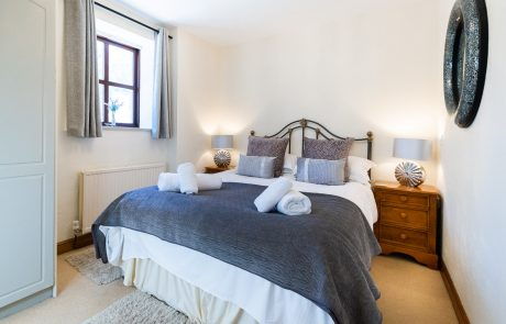 Bedroom in Bowland Bower. A Ribble Valley Holiday Cottage