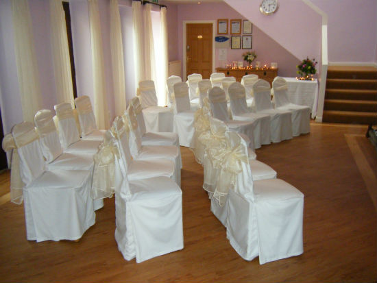 Small Lancashire wedding venue