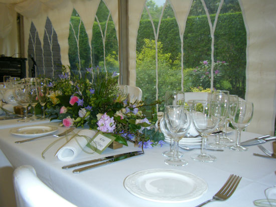 Small Lancashire wedding venue forest of bowland