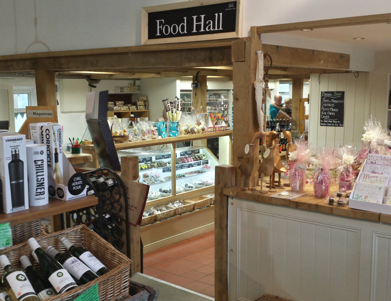 Farm shop Bashall Barn Lancashire