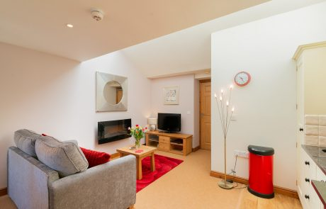 Curlews Nest lounge. Luxury Boutique property