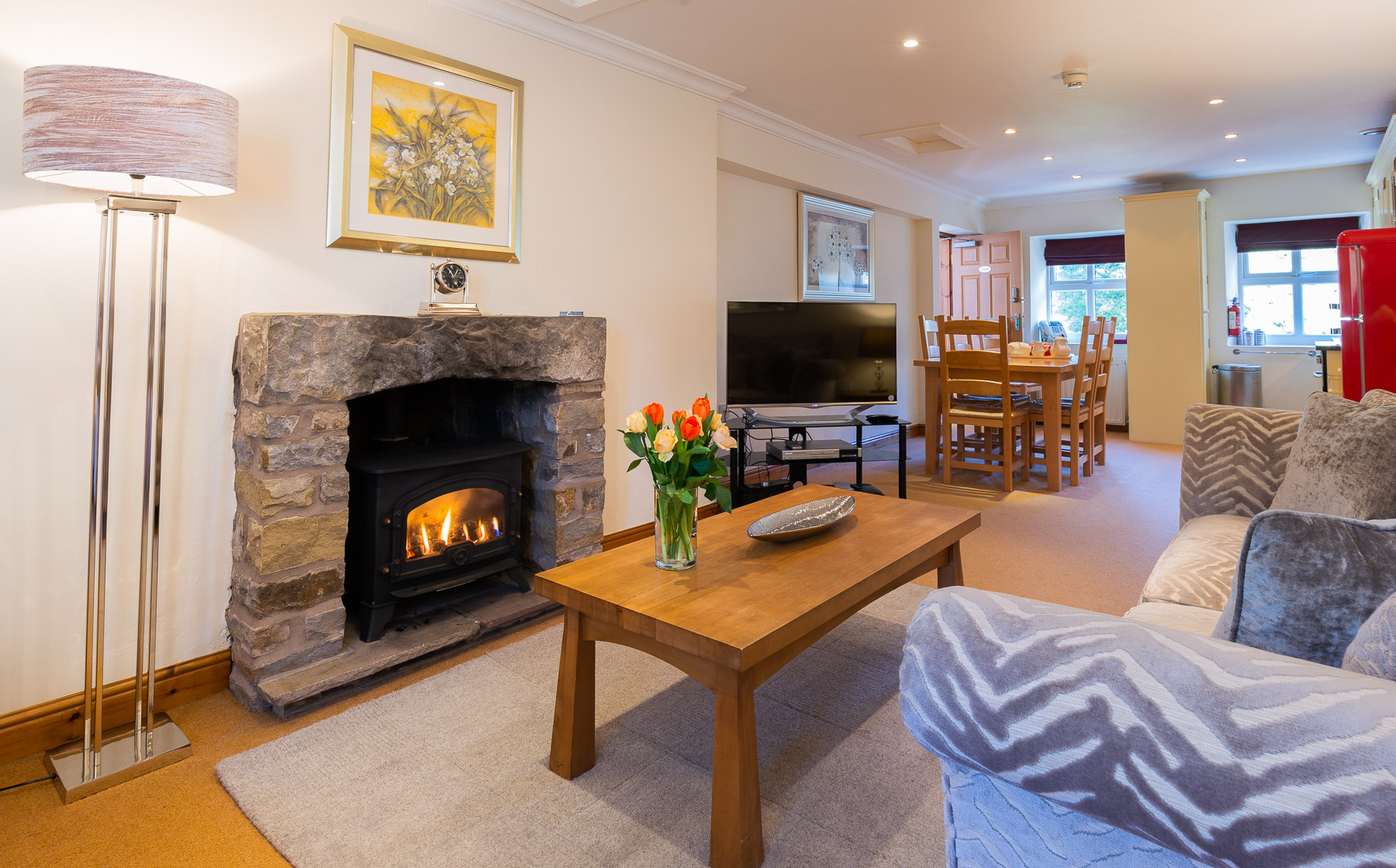 Leagram lounge. boutique Luxury self catering Lancashire