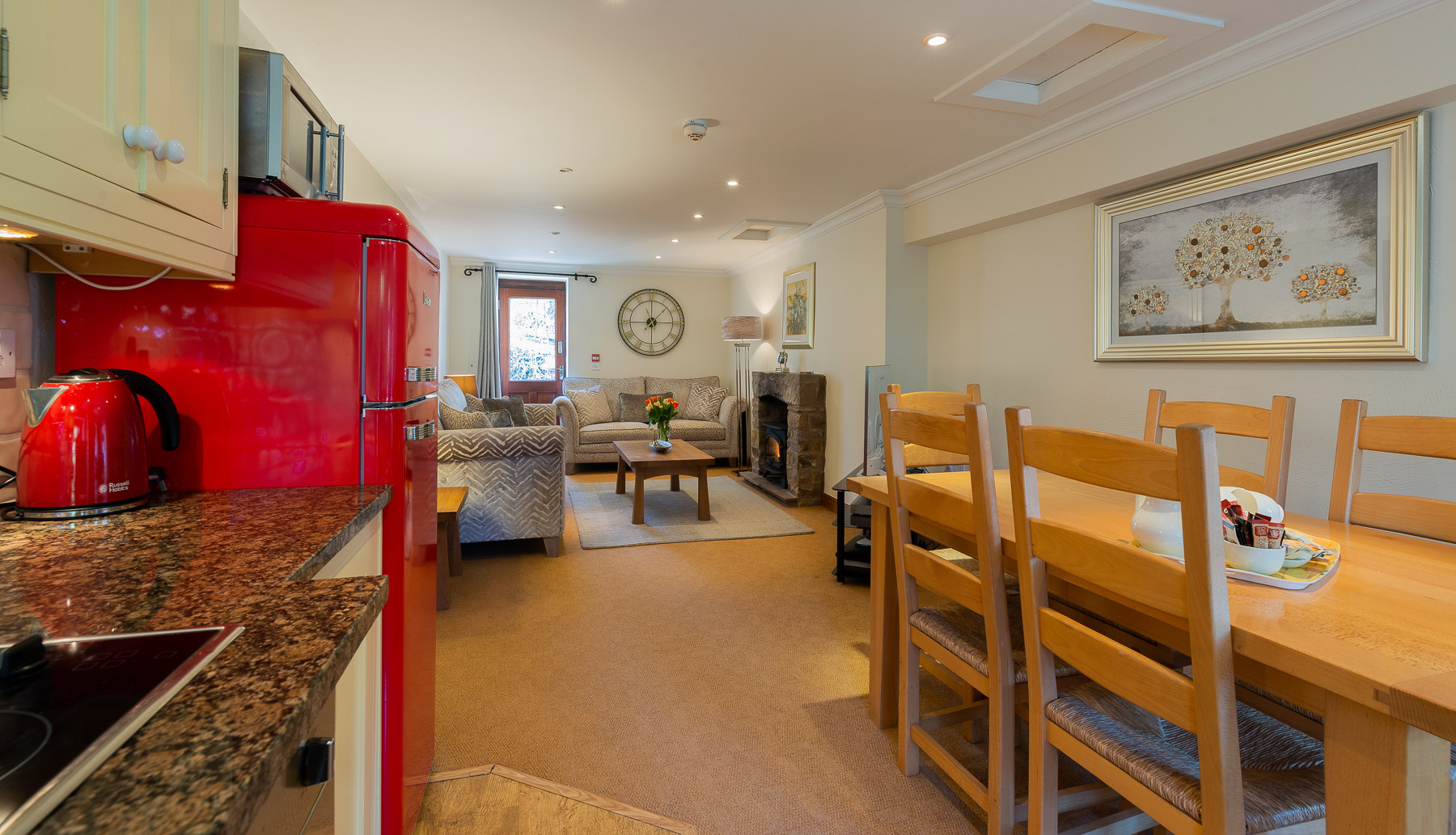 Leagram kitchen. boutique Luxury self catering Lancashire