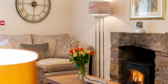 Leagram lounge. boutique Luxury self catering in Lancashire